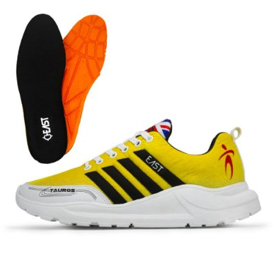 Tênis Esporte East Shoes Tauru Advanced Amarelo