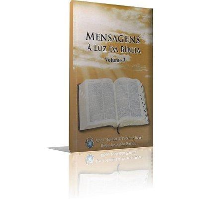Livro - Mensagens À Luz da Bíblia Volume 2