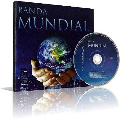 CD - Banda Mundial - Minha Adoração