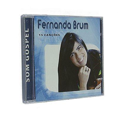 Cd Fernanda Brum 15 Canções Coleção Som Góspel