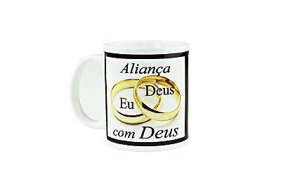 Caneca Cerâmica Aliança com Deus