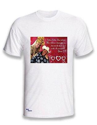 Camiseta Personalizada Apóstolo e Bispa