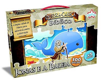 QUEBRA CABEÇA JONAS E A BALEIA