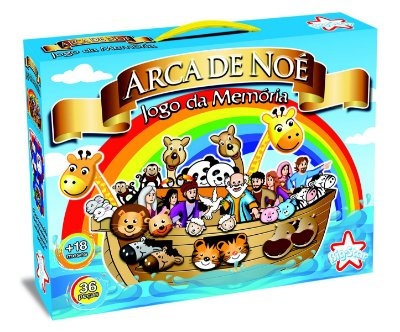 JOGO DA MEMÓRIA ARCA DE NOÉ