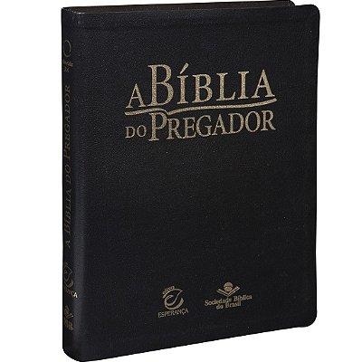 A BÍBLIA DO PREGADOR - PRETA