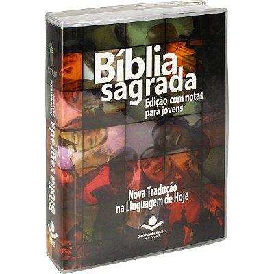 BIBLIA SAGRADA P/ JOVENS CP BROCHURA ILUSTRADA HARMONIA