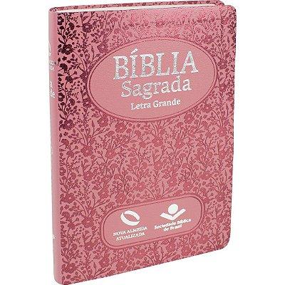 BÍBLIA SAGRADA - NOVA ALMEIDA ATUALIZADA ROSA