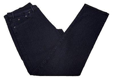 Calça Jeans Pierre Cardin Escura Tradicional
