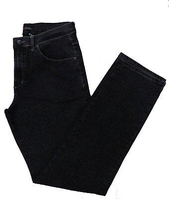 Calça Jeans Pierre Cardin Tradicional Escura
