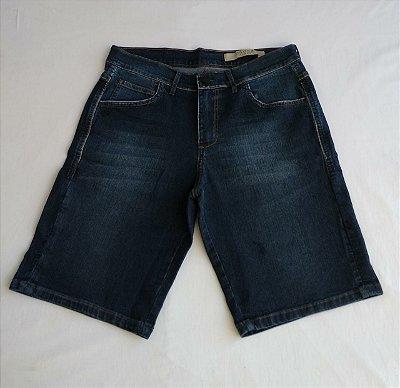 Bermuda Jeans Ogochi Com Lavagem