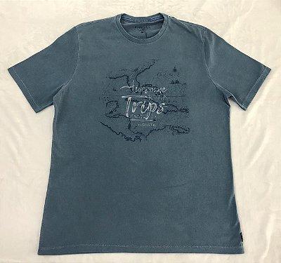 Camiseta Manga Curta Estampada Highstil TRIPS