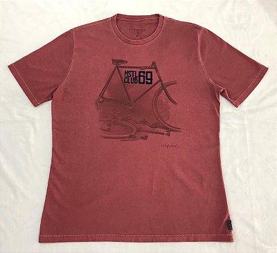 Camiseta Manga Curta Estampada Highstil BIKE HSTL CLUB