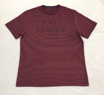 Camiseta Manga Curta Estampada Highstil NYC LEAGUE
