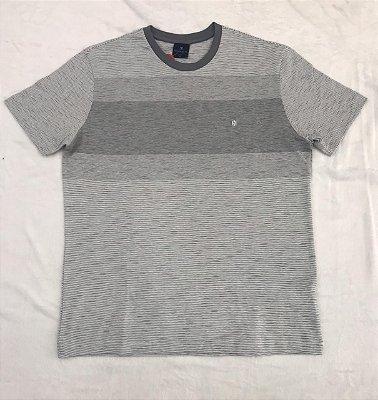Camiseta Manga Curta Highstil Meia Malha Slim
