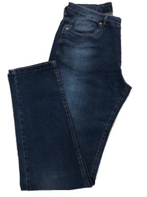 Calça Jeans Highstil Casual Estonada