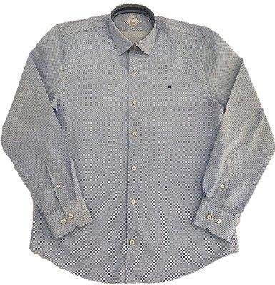 Camisa Manga Longa Highstil Resort Slim Fit