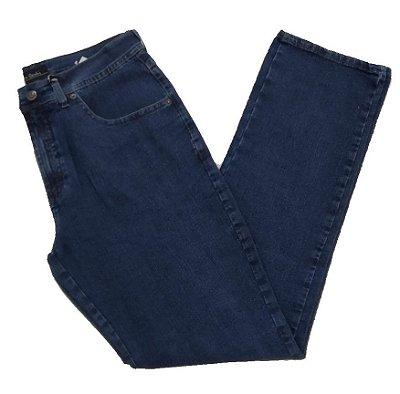 Calça Jeans Pierre Cardin Tradicional Azul