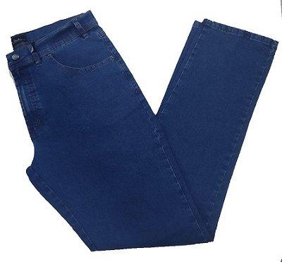 Calça Jeans Pierre Cardin Reta Cintura Média