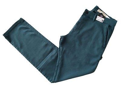 Calça de Sarja Ogochi Bolso Extra Verde