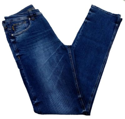 Calça Jeans Pininfarina +10cm Comprimento