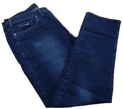 Calça Jeans Pininfarina Tamanho Especial com Puído