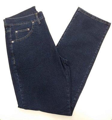 Calça Jeans Cerruti Corte Reto Escura