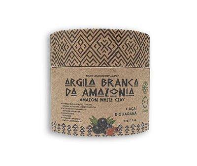 Argila Branca da Amazônia + Guaraná e Açaí