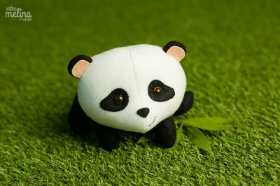 Panda de Bruços