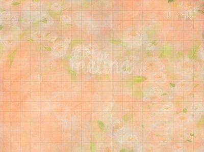Fundo Fotográfico Textura Floral Salmão