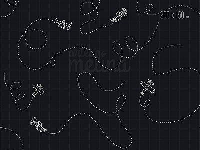 Fundo Fotográfico Aviões