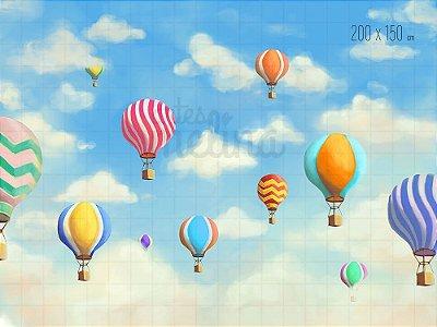 Fundo Fotográfico Balões