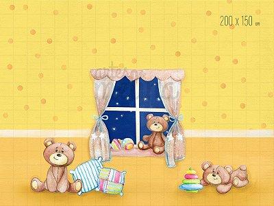 Fundo Fotográfico Quartinho do Bebê