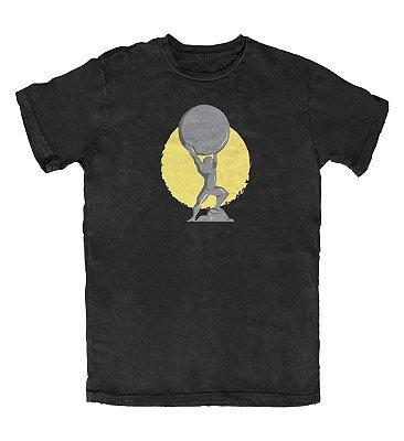 Camiseta Ideias Radicais Atlas Preta