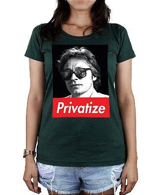 Long Babylook Privatize Verde Escuro