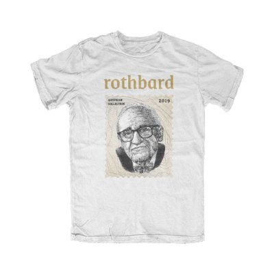 Camiseta Austrian Collection Rothbard Branca