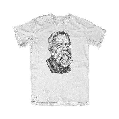 Camiseta Portrait Wieser Branca