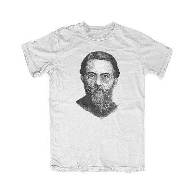 Camiseta Portrait Menger Branca