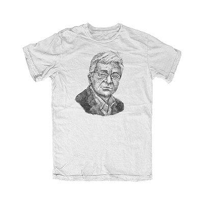 Camiseta Portrait Hoppe Branca