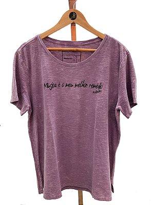 T-shirt FEMININA MÚSICA (SF202)