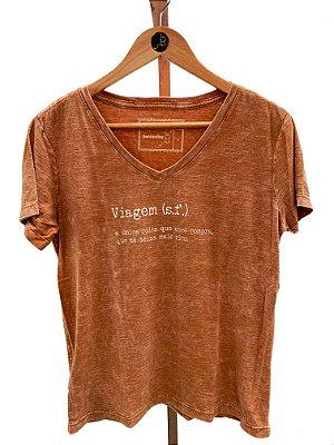 T-shirt Viagem laranja (SF61)