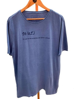 T-shirt Fé - gola redonda