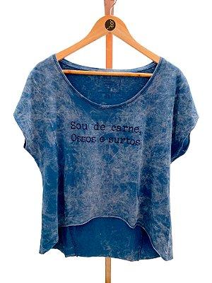 T-shirt Sou de Carne ossos e surtos (SF32)