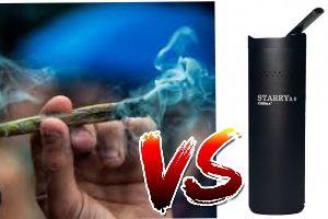 Você sabia que Vaporizar é bem mais saudável que fumar?