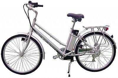 Bicicleta elétrica eb 003 250w vinho