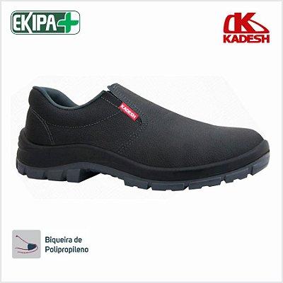 Sapato de Segurança Elástico Bico PVC Solado Bidensidade Kadesh Flex