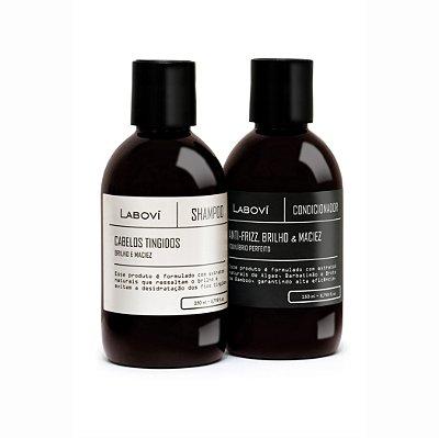Shampoo Cabelos Tingidos + Condicionador Anti-Frizz, Brilho e Maciez