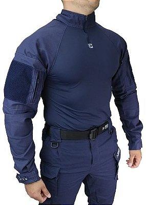 Combat Shirt HRT DACS - Azul marinho