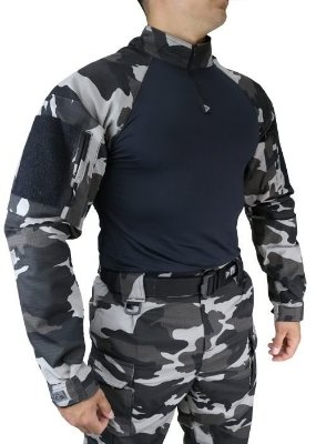 Combat Shirt HRT DACS - Urbano Black