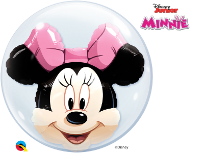 Balão Bubble Disney Shaped Minnie Mouse