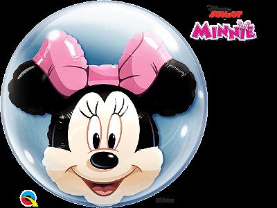 Balão Bubble Disney Shaped Minnie Mouse